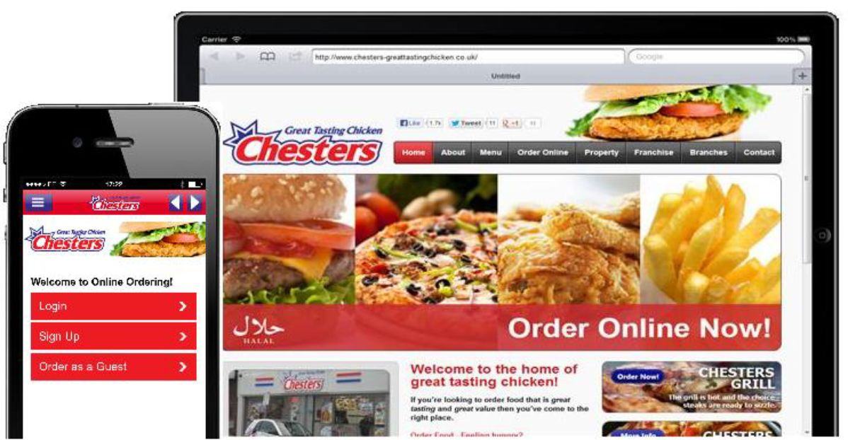 Chesters Chicken Goes Online Ordering With Mobo2go